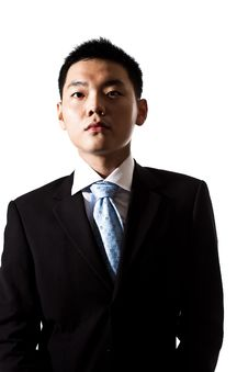 Free Asian Young Business Man Royalty Free Stock Image - 8053446