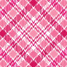 Free Pink Stripe Plaid Royalty Free Stock Photo - 8053485