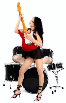 Free Sexy Rock-n-roll Stock Photography - 8054652