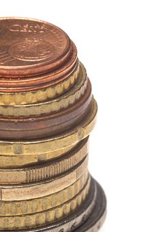 Free Pile Of Coins Royalty Free Stock Photos - 8054868