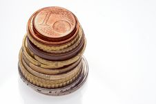 Free A Selection Of Euro Coins Royalty Free Stock Photo - 8054875