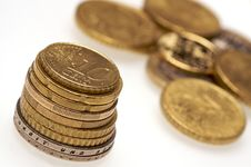 Free Coins Royalty Free Stock Image - 8055216