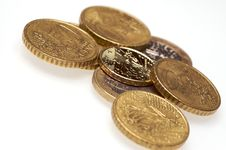 Free Coins Stock Photography - 8055242