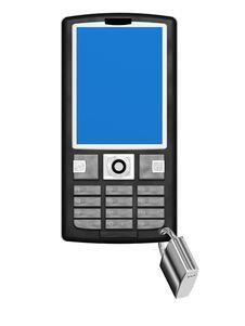 Free Blocked Phone Royalty Free Stock Images - 8055469