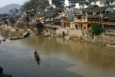 Free Phoenix Ancient Town Of China Royalty Free Stock Photo - 8055795