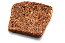 Free One Piece Of Rye Bread Royalty Free Stock Images - 8056009
