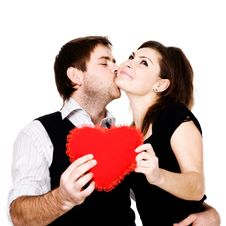 Free Kiss Stock Photography - 8056452