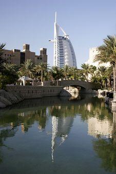 Free Burj Al Arab, Dubai Stock Image - 8056541