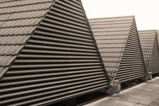 Free Triangular Rooftops Stock Photos - 8056593