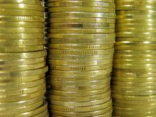 Free Coins Royalty Free Stock Photography - 8056637