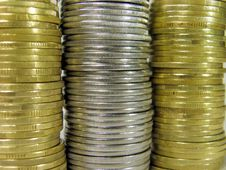 Free Coins Stock Photography - 8056692