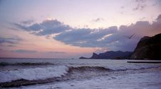 Free Sunset Is In Crimea Royalty Free Stock Image - 8057186