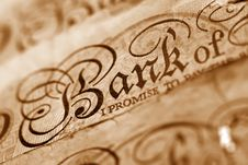 Banknote Royalty Free Stock Image