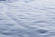 Free Expanse Of Snow Royalty Free Stock Images - 8057749