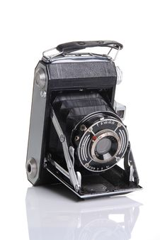 Free Vintage Photo Camera Stock Image - 8057801