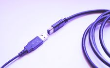 Free USB/Firewire Connections Royalty Free Stock Photos - 8057848