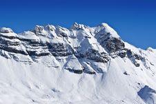 Free Snow Covered Mountain Range Royalty Free Stock Photos - 8057888