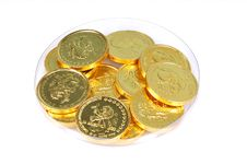 Free Gold Coins Royalty Free Stock Image - 8058076
