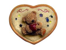 Free Bear With Heart Royalty Free Stock Image - 8058476