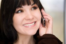 Free Woman With Mobile Phone Royalty Free Stock Photos - 8058548
