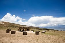 Isla Del Sol - Titicaca Royalty Free Stock Images