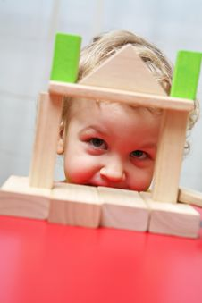 Free Kid Is Playing. Stock Photography - 8058722