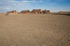 Free Abandoned City - Santa Laura And Humberstone Stock Photography - 8058992