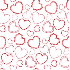Free Seamless Valentine Background Royalty Free Stock Photography - 8059237
