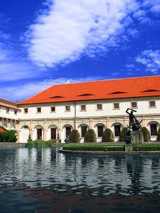 Valdstejn Palace Gardens Royalty Free Stock Photo