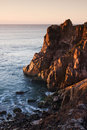 Free Beatifull Ocean Cove With The Cliffs Royalty Free Stock Image - 8067716