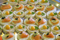 Free Canape On A Tray. Royalty Free Stock Photos - 8069698