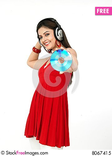 Free Woman Enjoying Music Royalty Free Stock Photo - 8067415