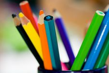 Free Crayons Royalty Free Stock Photos - 8060158