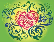 Free Spring Heart Stock Image - 8060171