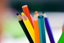Free Crayons Royalty Free Stock Photos - 8060198