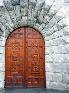 Free Castle Door Stock Photography - 8060332