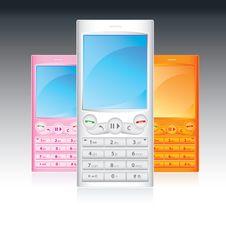 Free Music Cellphones Stock Photo - 8060780