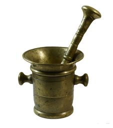 Free Mortar And Pestle Royalty Free Stock Photography - 8060897