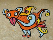 Free Handmade Tribal Art Stock Photos - 8061343