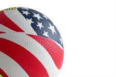 Free Ball For The Game Royalty Free Stock Image - 8061516
