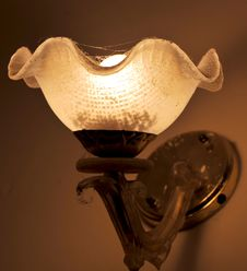 Free Old Lamp Shade Royalty Free Stock Images - 8061539