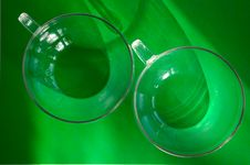 Free Two Glasses Royalty Free Stock Photos - 8061558