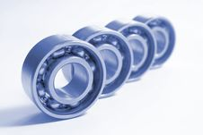 Free Four Bearings Royalty Free Stock Images - 8062269
