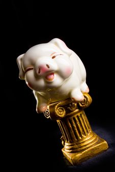 Free Piggy Bank Royalty Free Stock Photography - 8062497