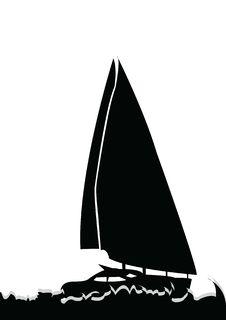 Free Sail Boat Stock Image - 8062741