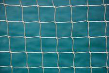Free Nautical Net And Blue Sea Stock Photo - 8062870
