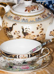China Tea Cup Stock Image