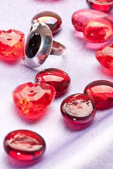 Free Ring And Heart Stock Photography - 8063402