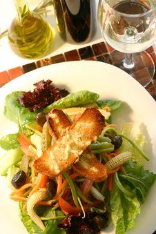 Free Salad Royalty Free Stock Photo - 8063535