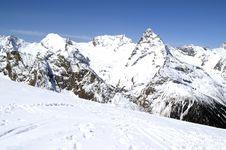 Free Ski Resort Royalty Free Stock Photos - 8063828